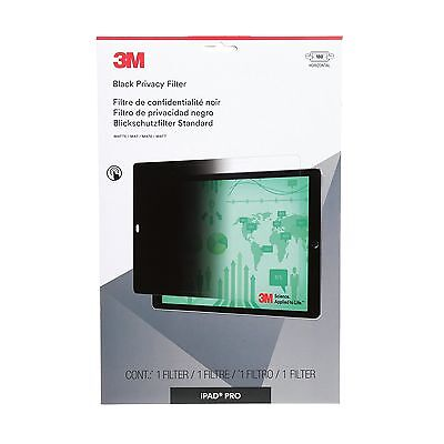 """3M Privacy Screen Protectors Filter for Apple iPad Pro 12.9"""" - Landscape ... New"""