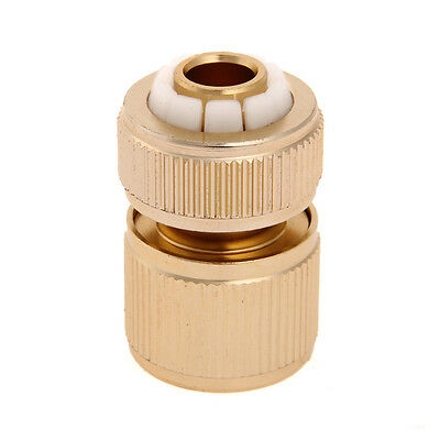 """Water Brass Hose Pipe Tube Fitting Garden Tap Quick Connector Adaptor 1/2"""""""