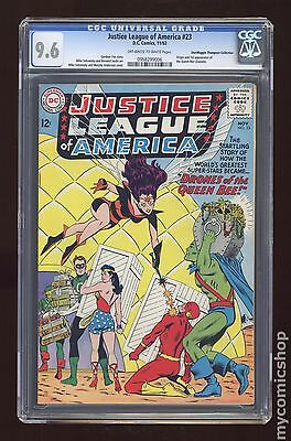 Justice League of America #23 CGC 9.6 (0958299006) Don/Maggie Thompson