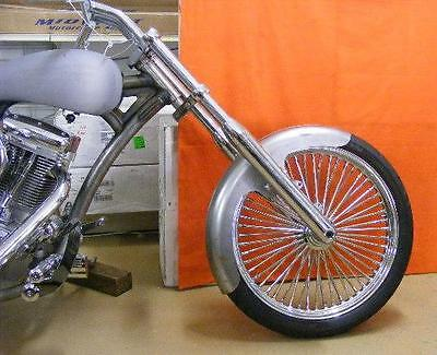 NEW roller TAILDRAGGER TOMBSTONE FRONT HARLEY CUSTOM FENDER SOFTAIL DYNA
