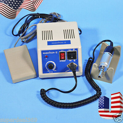USA New Dental Lab Electric MARATHON Micro Motor Polisher Micromotor Handpiece W