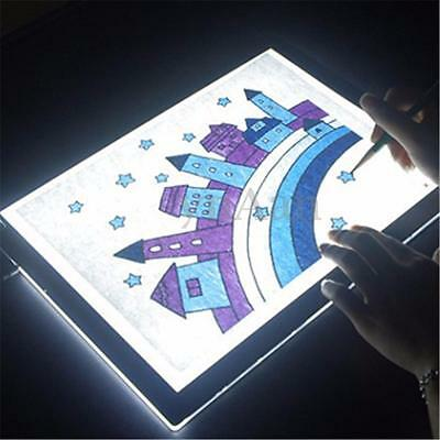 New A2 Dimmable Touch Sensor LED Art Stencil Tracing Drawing Board Lightbox Pad