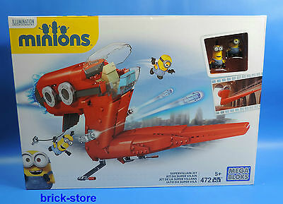 Mega Blocks Minions / Cnf 60 / Super Villain Jet