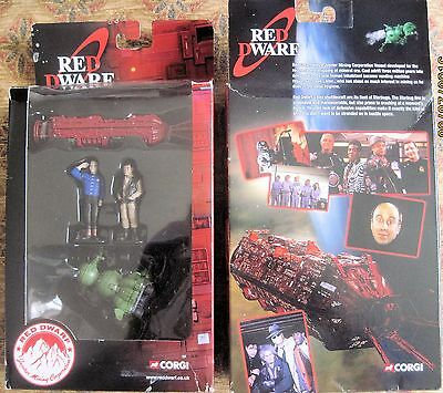 Red Dwarf & Starbug With Lister & Rimmer figures