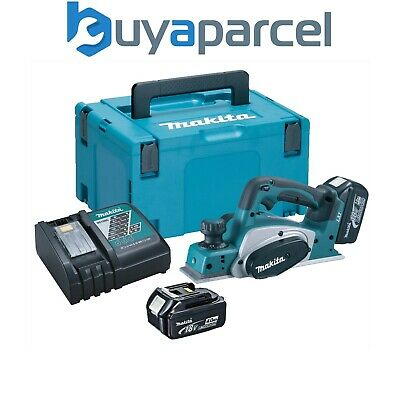 Makita DKP180RMJ 18v Planer LXT Lithium Ion Li-Ion Cordless - 2 x 4.0ah Battery