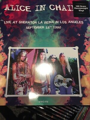 Alice In Chains 'Live At Sheraton La Reina in Los Angeles' Vinyl Lp New + Sealed