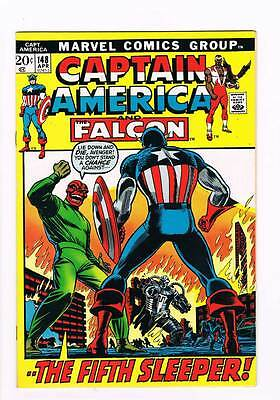 Captain America # 148 The Fifth Sleeper grade 8.5 scarce hot book !!