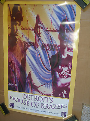 HOUSE OF KRAZEES Poster LARGE 24x36 The R.O.C. Twiztid ORIGINAL