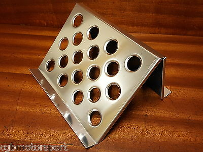 Alloy Silver Foot Rest Navigator Co Driver Passenger Track Rally Feet Support