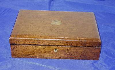 Antique Keuffler & Esser New York Wood Box For Drafting Set Tools