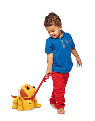 E72376 TOMY Push Me, Pull Me Puppy with Sounds Infant Toddler Age 12 Months+