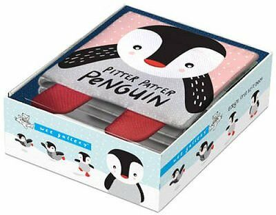 Pitter Patter Penguin Baby's First Soft Book by Surya Sajnani 9781784937102