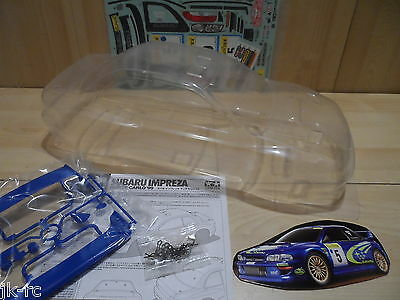 New Genuine Tamiya Subaru Impreza Monte Carlo '99 Body For 257mm Wheelbase TT-02