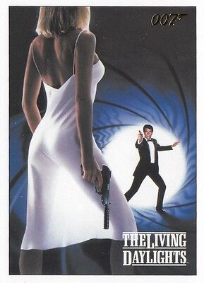 James Bond Archives 2016 Spectre Edition Gold Parallel The Living Daylights Set
