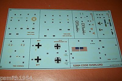 AIRFIX  D-DAY SET 52604  1:72 scale decals