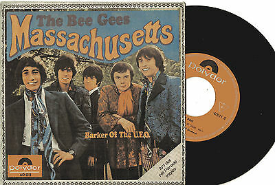 "BEE GEES - Massachusetts / Barker Of The U.F.O., SG 7"" SPAIN 1967"