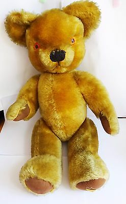 Vintage MERRYTHOUGHT merry thought TEDDY BEAR toys Ironbridge Shrops England