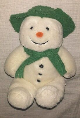 "VINTAGE EDEN  Raymond Briggs 7"" THE SNOWMAN  1992 PLUSH DOLL"