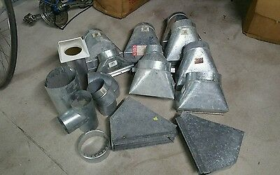 Large lot of vent ducts 30 pieces