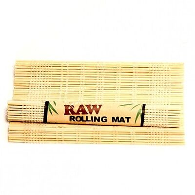 Raw Rolling Mat Natural Bamboo Smoking Cigarette Tobacco Roll