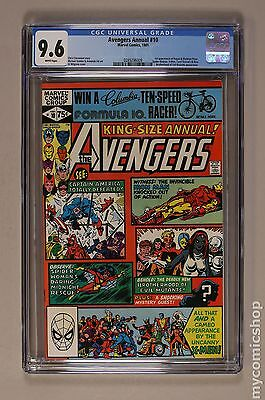 Avengers (1963 1st Series) Annual #10 CGC 9.6 (0289296009)