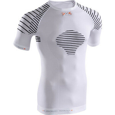 X-bionic Invent Summerlight Ss Mens Base Layer Top - White Black All Sizes