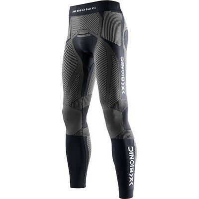 X-bionic The Trick Running Tight Hommes Seconde Peau - Black Anthracite
