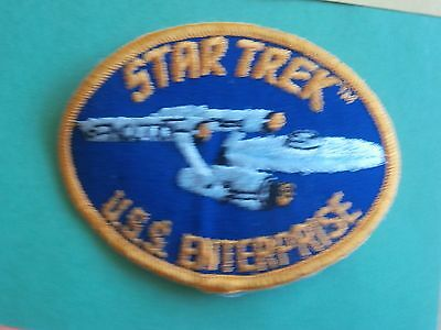 Star Trek.U.S.S. (Gold Border) Enterprise New Patch