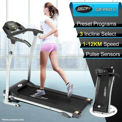 New Genki Motorized Treadmill Machine Exercise Equipment Home Gym Fitness