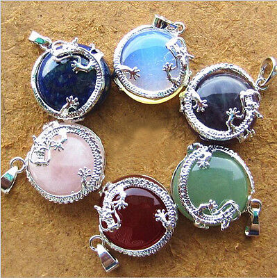Resin Gemstone Dragon Crystal Pendant Fashion Charms Jewelry no Necklace Chain