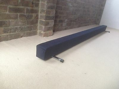 finest quality gymnastics gym balance beam navy blue 6FT long brand new
