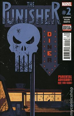 Punisher (2016 11th Series) #2A NM