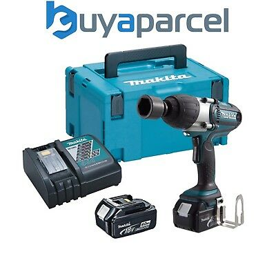 """Makita DTW450RMJ 18v Lithium Impact Wrench 1/2"""" Square Drive - 2 x 4.0ah Battery"""