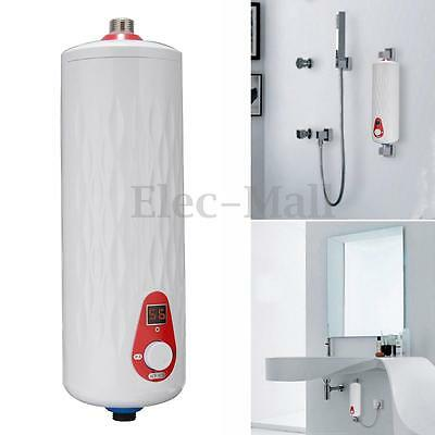 5500W Mini Instant Electric Hot Tankless Water Heater System Tap Faucet New