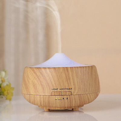 Essential Oil Aroma Diffuser Ultrasonic Humidifier Air Aromatherapy Purifier LED