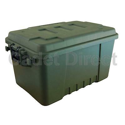 Plano Small Military Storage Trunk, OD Green