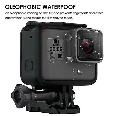 Lens & Screen Protective Tempered Glass Film For GoPro Hero 5 Camera Protector