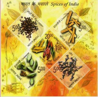 INDIA 2009 Spices of India Miniature Sheet, MNH