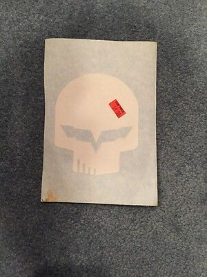 Punisher Skull Iron On Transfer Paper Sheet Marvel Comics Superheroes