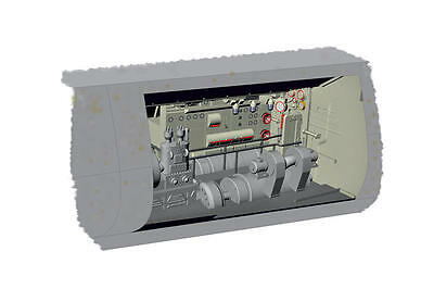 MPM 72024 Detail Resin Set U-Boot IX Electric Motor Section in 1:72