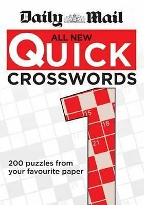 The Daily Mail: All New Quick Crosswords 1 by Daily Mail 9780600626107