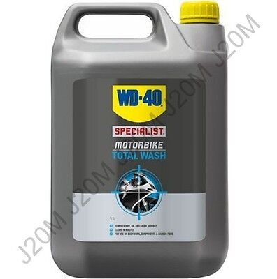 5 Litre WD 40 Specialist Motorbike Total Wash All Purpose Motorcycle Cleaner