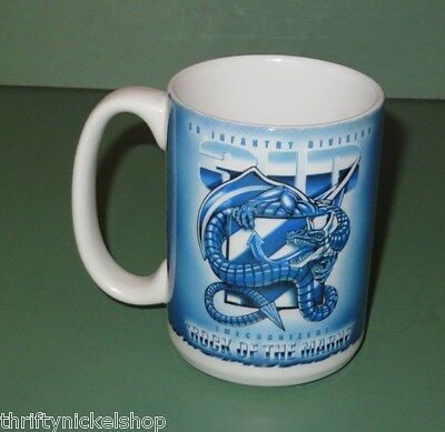 United States Army 3rd Infantry Division Mechanized Rock of the Marne Coffee Mug
