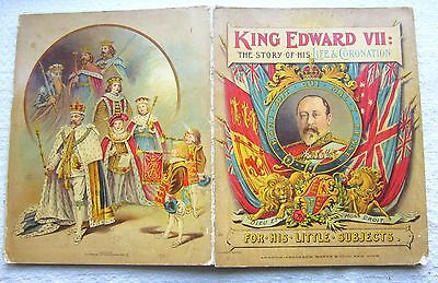 1902 King Edward Vii Coronation The Story Of His Life And Coronation Book