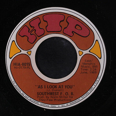 SOUTHWEST F.O.B.: As I Look At You / Independent Me 45 Rock & Pop