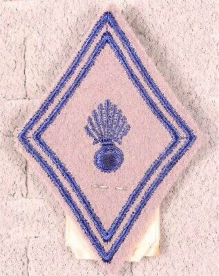 French Army Badge:   Service du Materiel - lozenge