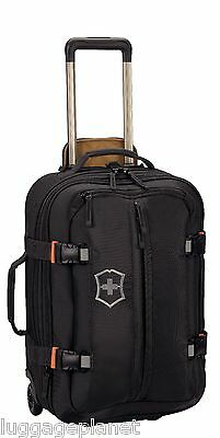 """Victorinox Swiss Army CH97 2.0 Wheeled 22"""" Carry On 2 Wheel Upright Luggage Blk"""