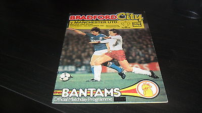 Bradford City v Manchester United League Cup 1982-83