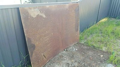 3mm thick metal plate suit trailer ute truck etc 6x4 feet