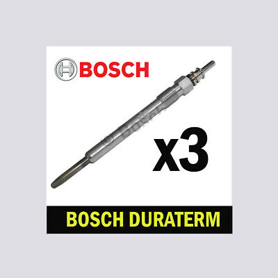 4x Bosch Glow Plugs for VW PASSAT 2.0 CHOICE2/2 ALLTRACK CC TDI B6 B7
